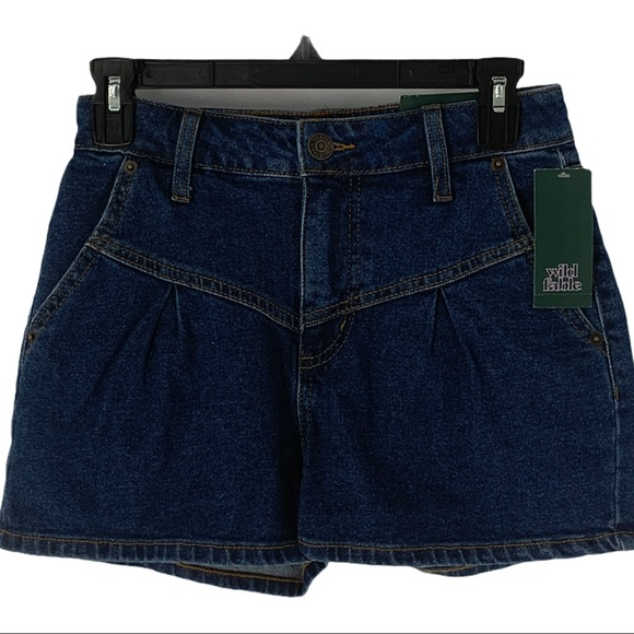 Wild Fable Women's High Rise Denim Shorts Size 0